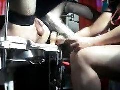 Russian female-dom fisting