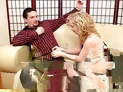 Foot sunny leon with little guy and footjob in sheer seamed nylons