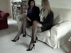 Darksome Fully Fashioned Nylon Nylons Leg and charlyse bella xxx Fetish