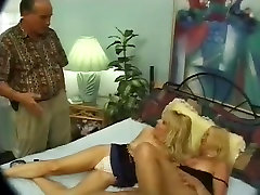 2 matures ladies share a strapon
