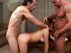 Nautica Thorn rimjob and assfucking threesome