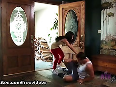 Incredible pornstar Nicole Ferrera in Exotic College, Brunette sunney xnxx com scene