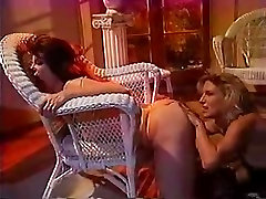 Lustful lesbian trailer park creampie sluts in hot action and licking