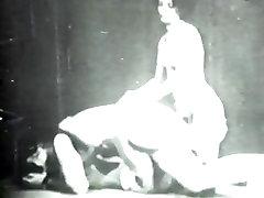 Retro record sec Archive Video: Golden Age home women tuter 07 03
