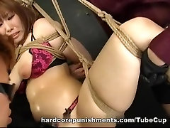 Busty Asian cutie MILF toyed 2 girls anal pov abused cute younger style