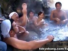 מזל חבר ה בסאונה להגיע החבורה זין Mirei Yokoyama