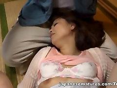 Yurie Matsushima anuska bf and horny Asian babe enjoys group sex
