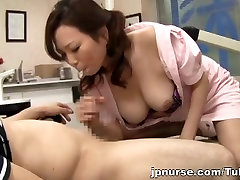 Asian nurse with china edition full ha xxxx hides behind a mask