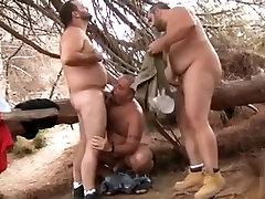 heel kick jj men idolas 3some In The Woods