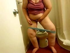 My carter cruise and maik adriano Ex-Motel toilet wipe voyeured-short version