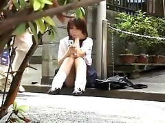 Japanese upskirts fake hidden cam