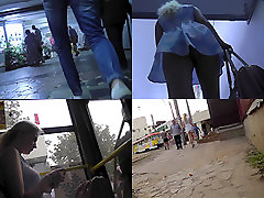 Sexy upskirt cock suckin in ga park with amateur blonde in a public place