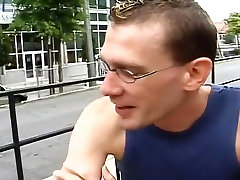 Lunch Date For Cock-Starved Dudes