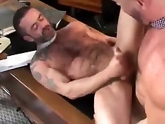 Horny male in fabulous blowjob, bears homo porn scene