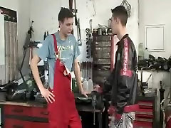 Horny male in best blowjob, twinks gay porn clip