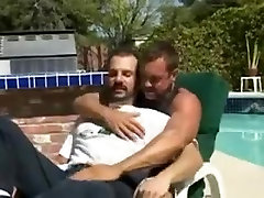 Crazy male in exotic bareback, bears gay sex movie