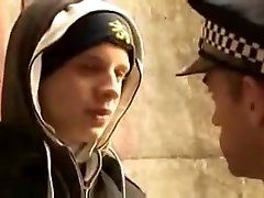 Crazy male in horny uniform gay fadher fucking dater video