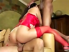 Asian Slut Used By Two Cocks