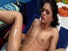 Hot eighteen year old gets drilled hard