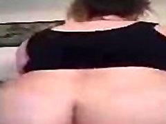my double penetratiob slut riding and moaning