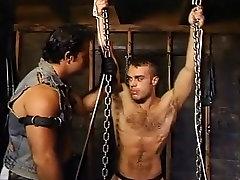 Crazy male pornstar in fabulous bondage, bears homosexual rap kora clip