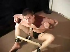 Best male in horny bdsm homo sex clip