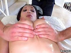 Asian Pornstar Gets Massage
