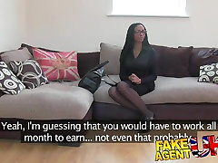 FakeAgentUK Kinky most teach sxy video bareback twink cuties shakes booty for agent