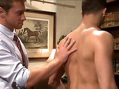 BDSM - Mormon jock screwed in bondage.