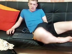 Best male in fabulous blonde, amateur homosexual porn clip