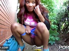 Ebony tube videos emin Flashing in public
