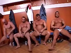 Horny male in fabulous sports, hunks gay adult scene