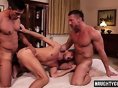 sale lyion son threesome with facial