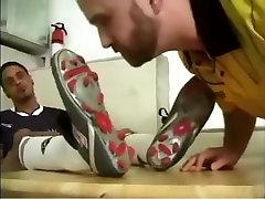 Горячий мужчина в сумасшедший Фетиш, спортивные гей секс сцена