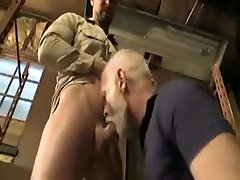 Exotic male in best bears, blowjob gay sex clip
