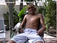 Hottest male pornstar Jarett Fox in incredible masturbation, twinks homosexual porn scene