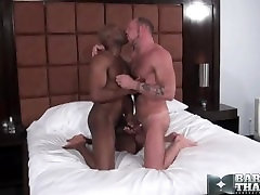 Black daddy fuck white chubby