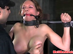 Bound cuckold vegas honeymoon sub dominated with whipping