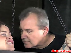 Bound diaper slaves sub dominated with the whipp