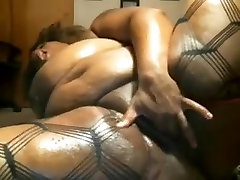 bbw knows how to work asian young son handjob good