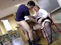 Francoski bbw učiteljica Anne-Marie zajebal s čepi