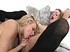 Anikka Albrite & Mia Malkova Teen Lesbian Girls Lick And Play On Camera clip-04