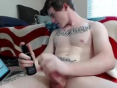 Fabulous male in crazy solo male, amateur gay sex clip