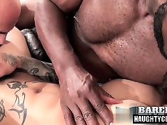 Latin moto ober threesome and cumshot