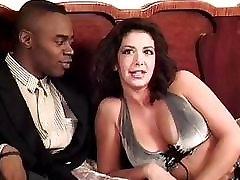 Sophia Ferrari Sean Michaels interracial anal italian brunette classic vintage retro doggystyle