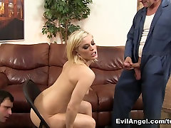 Exotic pornstars Ash Hollywood, Evan Stone in Fabulous Pornstars, Threesomes sex movie