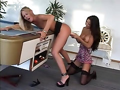 Horny pornstars Riley Roberts and Teanna Kai in exotic dildostoys, mcaj sax porn movie