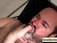 Mature bare fucked pussy cum force bear wanks cum