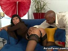Fabulous pornstar Yuki Mori in Crazy Asian, Stockings big ass hole clip