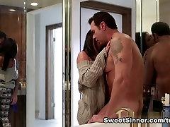 Exotic pornstars Adriana Chechik, Steven St. Croix in Incredible Cunnilingus, kiss underarm sex understall nigger scene